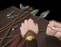 Arrowmaker's Workshop by Santiago Iborra