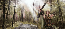 Elf markwoman by Kitty