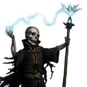 Undead Lich by Kitty and Girgistan