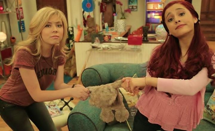 sam and cat doll sitting