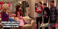 Sam & Cat with the rival babysitting service