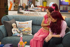 Sam and Cat with Clarice