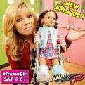 Sam and a Fresno Girl Doll