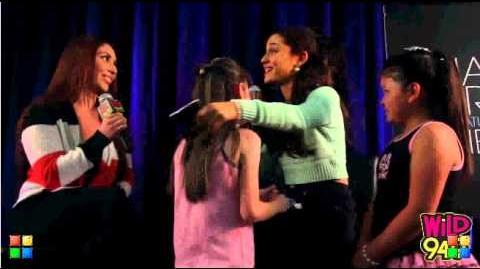 Ariana Grande Interview wild 94