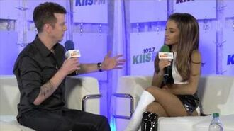 Ariana Grande interview at Wango Tango 2014