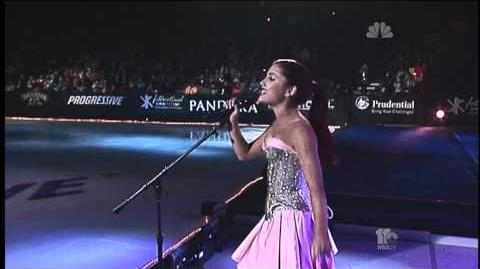 Ariana Grande - Only Girl In The World (2011 Skating Gymnastics Spectacular)
