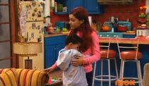 Ethan hugging Cat