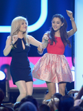 Ariana and Jennette at Nickelodeon's 26th Annual Kids' Choice Awards (2)