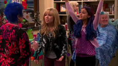 Sam and Cat in MotorcycleMystery