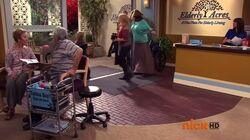Sam and Cat at Elderly Acres in the Pilot episode