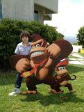 Cameron and Donkey Kong