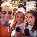 Frankie with Sophia and Rosie KCAs 2013