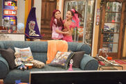 Sam and Cat getting scared by a doll
