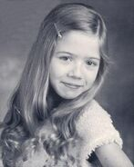 Young Jennette- Black and White