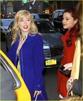 Jennette and Ariana at NYC dinner Feb 25, 2013