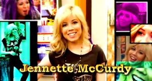 Jennette in the opening credits