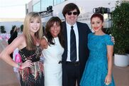 Jennette and Ariana with Dan Schneider and his wife
