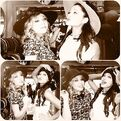 Ariana and Jennette hat shopping
