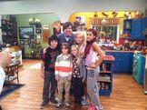 Ariana Grande, Jennette Mccurdy, Cameron Ocasio, Griffin Kane, Emily Skinner and Dan Schneider