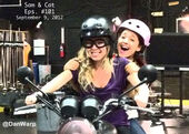 Ariana & Jennette On Set Shooting Sam And Cat Episode 101