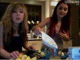 Ari and Jenn cooking show