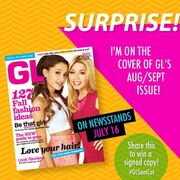 Jennette and Ariana on GL Magazine