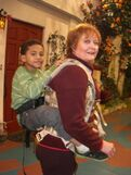 How Nona was rigged to carry a boy in FavoriteShow