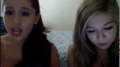 Ariana Grande Livestream 8-10-12 part 2