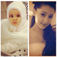 Ariana before and after, from baby to teen(adult)