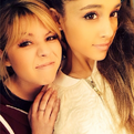 Ariana and Jennette on January 16, 2014