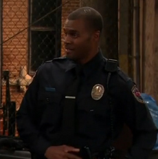 Officer Bell-Sam & Cat