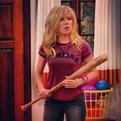 Sam holding a bat
