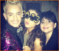 Ariana on New Year's 2013