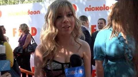 Jennette McCurdy Interview Fred the Movie Premiere