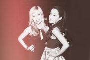 Jennette and Ariana at the KCA's 2013