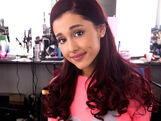 Ariana, about to film FavoriteShow