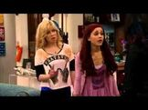 Sam and Cat talking to Jade
