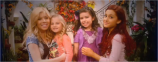 Sophia Grace and Rosie with Ariana and Jennette