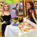 Jennette McCurdy and Ariana Grande's Birthday Cake on Set