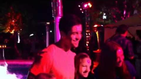 Drake & Josh REUNITE @ Ariana's Birthday Party!