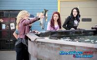 Sam holding a killer tuna