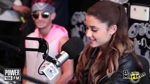 Ariana Grande - Interview w Big Boy on Power 106FM (Full)(HD)