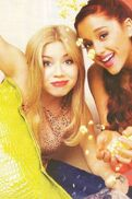 Jennette and Ariana photoshoot