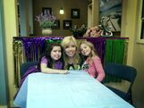 Jennette with Sophia Grace and Rosie