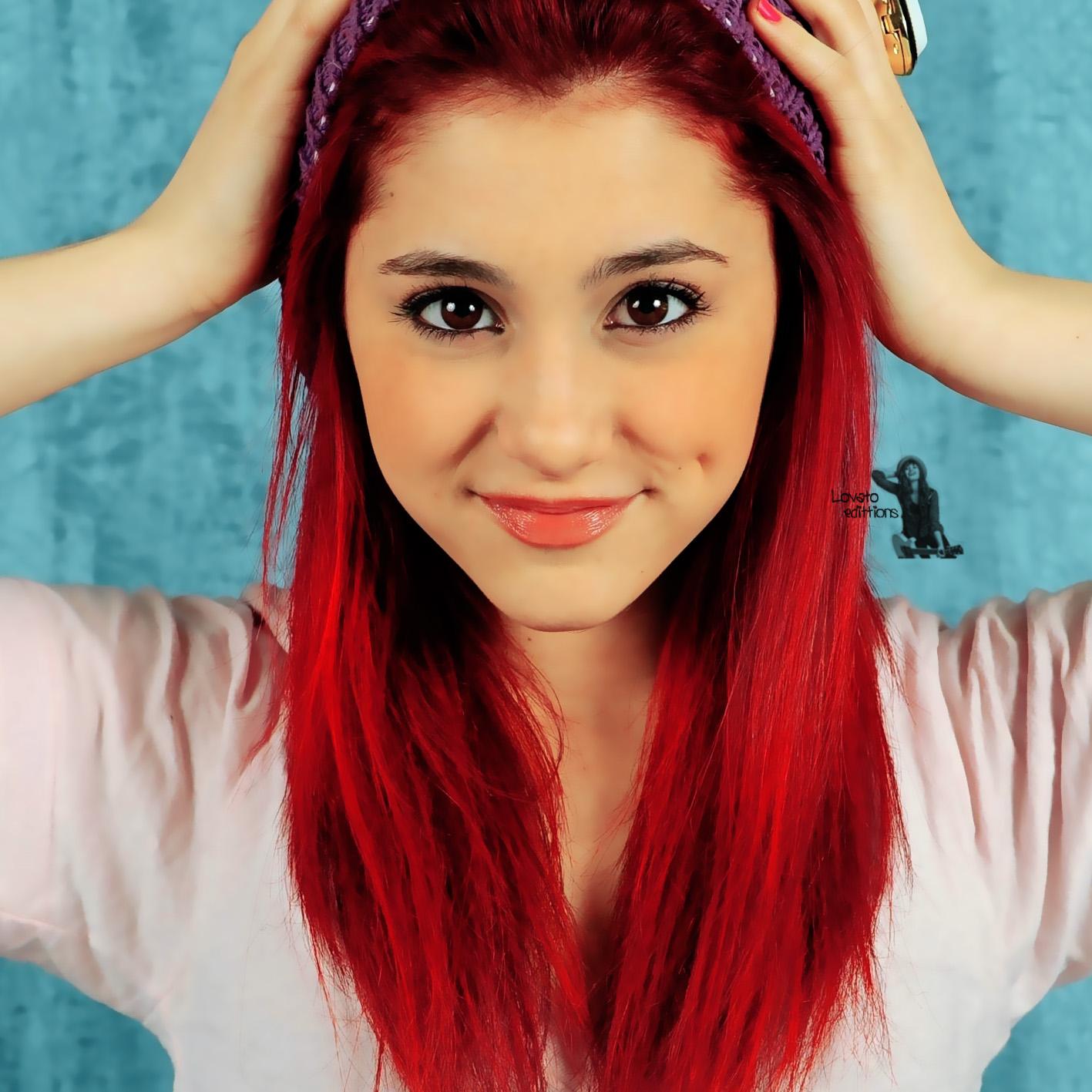 image ariana grande red hair jpg sam and cat wiki fandom