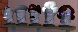 Bosco's disguises