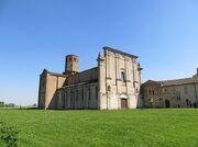 800px-Abbazia di Valserena (Paradigna - Parma) - chiesa (facciata e lato nord) 1 2019-06-03