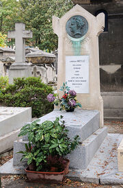 393px-Stendhal tombe cimetiere Montmartre