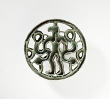 Compartmented Seal with Bird-Headed Man with Snakes LACMA AC1995 5 6