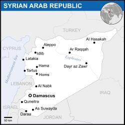 Syria - Location Map (2013) - SYR - UNOCHA svg